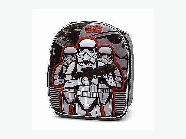 Star Wars Storm Trooper Dome Shaped Lunch Bag with Molded Front