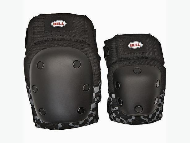 BELL FLOW Protective Knee Elbow Pad Set with Mesh Case