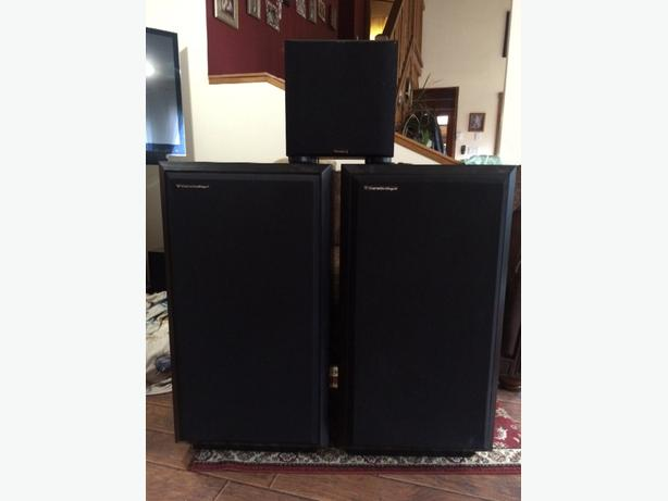 Cerwin Vegal tower speakers