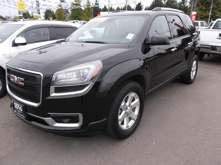 2016 used gmc acadia sle awd for sale outside comox valley comox valley mobile. Black Bedroom Furniture Sets. Home Design Ideas
