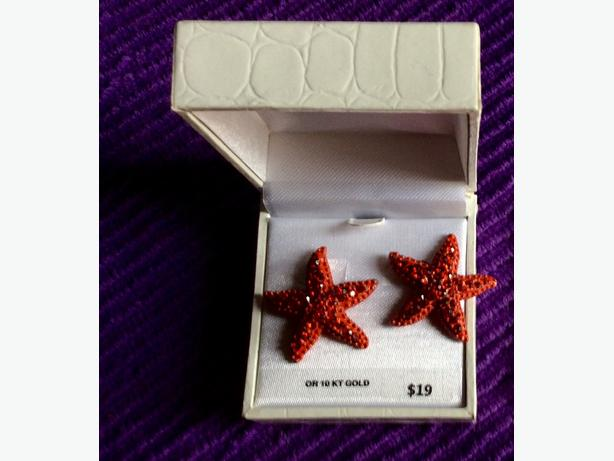 Starfish earrings for sale