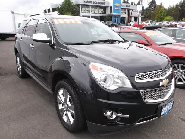 2012 USED CHEVY EQUINOX AWD LTZ FOR SALE