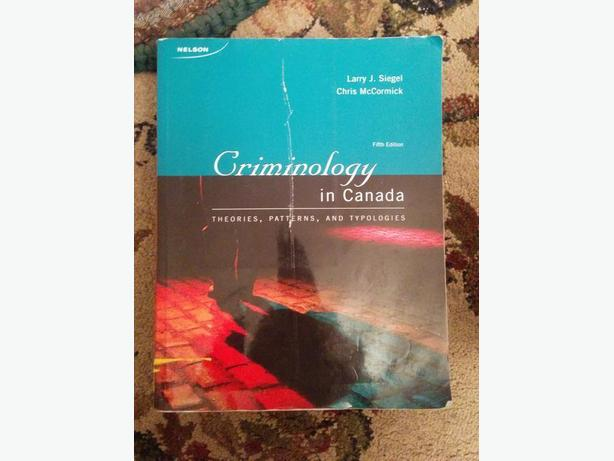 Criminology in Canada - 5th Ed