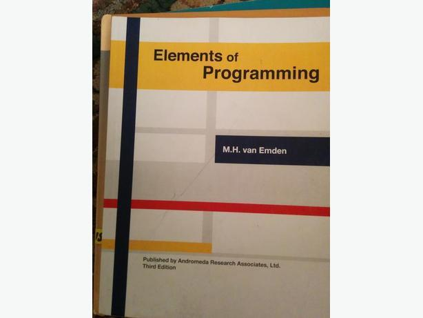 Elements of Programming - 3rd Ed.