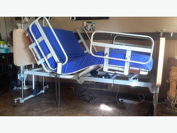 Hospital Bed Rare Double