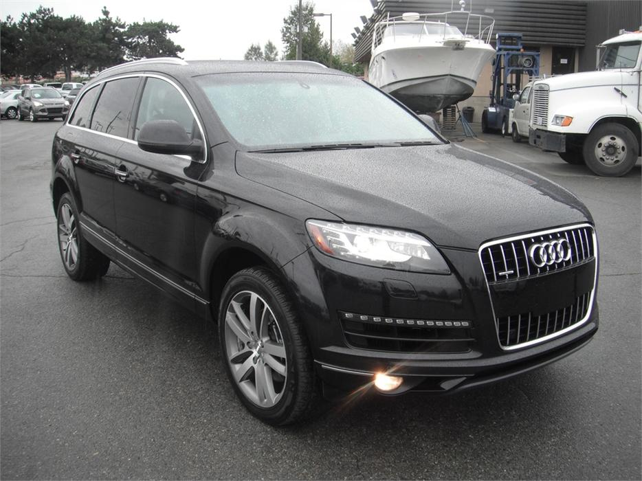 2010 audi q7 tdi quattro premium diesel with 3rd row seating burnaby incl new westminster. Black Bedroom Furniture Sets. Home Design Ideas