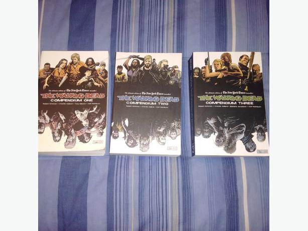Walking Dead Compendium 1, 2, and 3 by