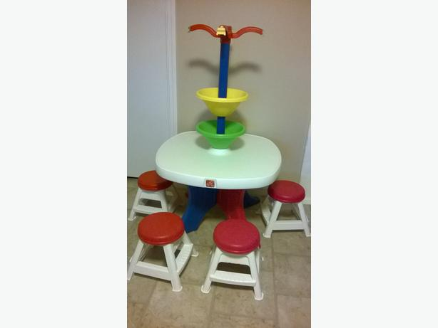 Step 2 Art Table With Stools