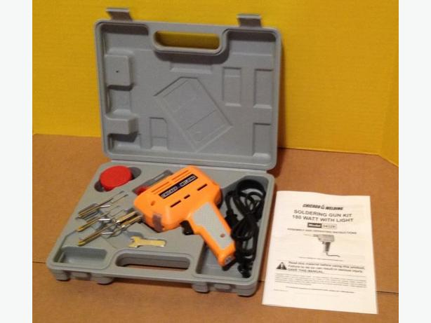 180W Soldering Gun Kit with Hard Case - Brand New