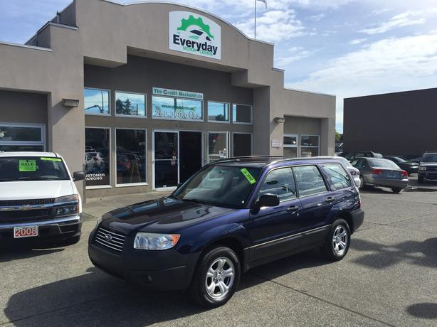2006 Subaru Forester 2.5X - Local, Service Records