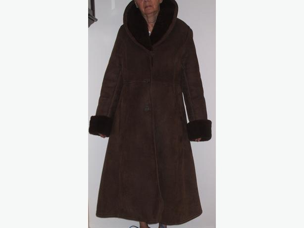 Sheepskin 3/4 Length Jacket-Antartex-Made in Scotland