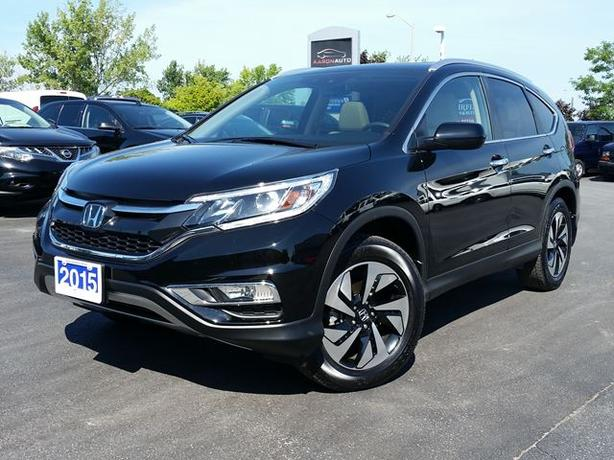 2015 HONDA CR-V TOURING - AWD LUXURY SUV - LOADED