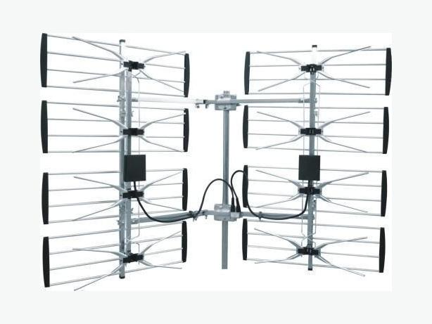 360 Degree Adjustable Multidirectional Super 8 Bay HDTV Antenna
