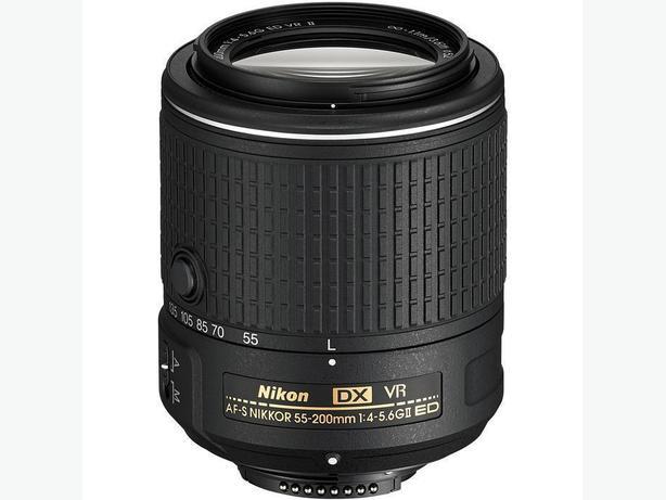 new AF-S DX 55-200mm f/4-5.6G ED VR II lens