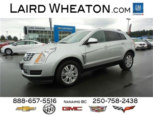 2016 Cadillac SRX Luxury Collection 4x4 w/ Back-Up Camera and WiFi Hotspot