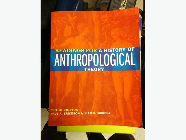 Readings for a history of anthropological theory - 3rd Ed