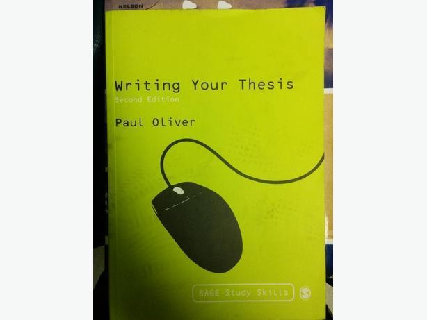 Writing your Thesis - 2nd Ed