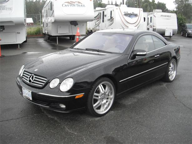 2004 mercedes benz cl class cl500 outside comox valley