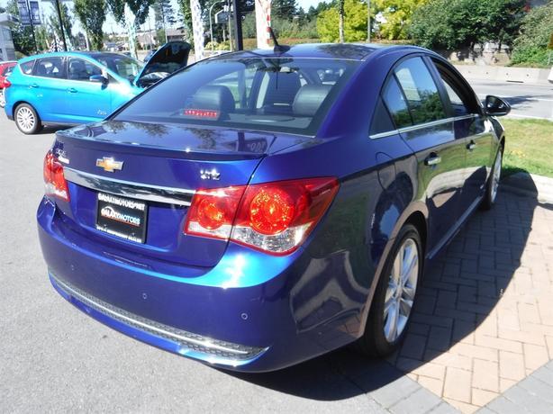 Galaxy Motors Courtenay >> 2013 Chevrolet Cruze LTZ Turbo - Bluetooth, Navigation, Alloy Courtenay, Comox Valley - MOBILE