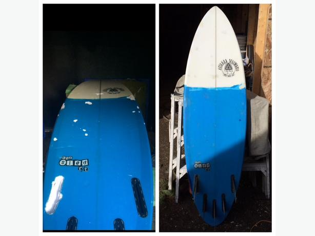surfboard ding repair