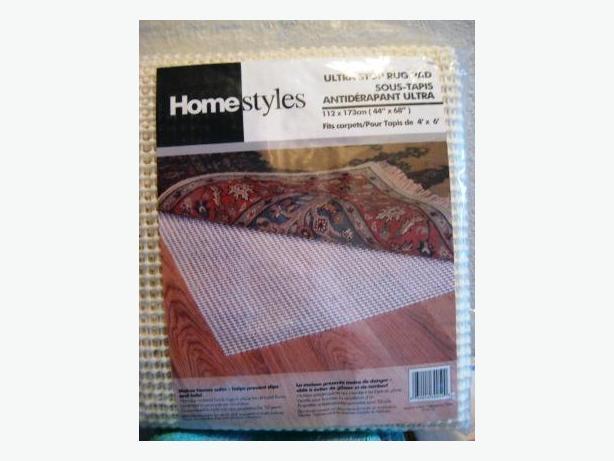 Rug Pad for Hardwood Floors 4'x6'