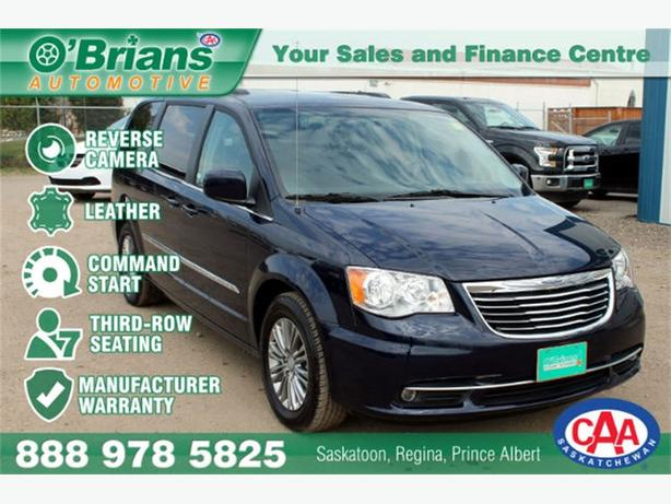 2016 Chrysler Town & Country Touring - LEATHER REV CAM WARRANTY