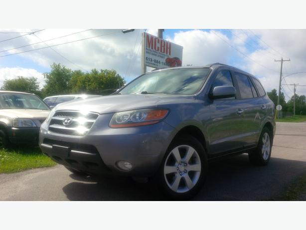 2008 hyundai santa fe awd 4dr 3 3l auto limited 5 pass central ottawa inside greenbelt gatineau. Black Bedroom Furniture Sets. Home Design Ideas