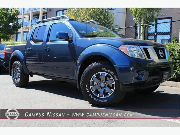 2016 nissan frontier crew cab pro 4x victoria city victoria. Black Bedroom Furniture Sets. Home Design Ideas