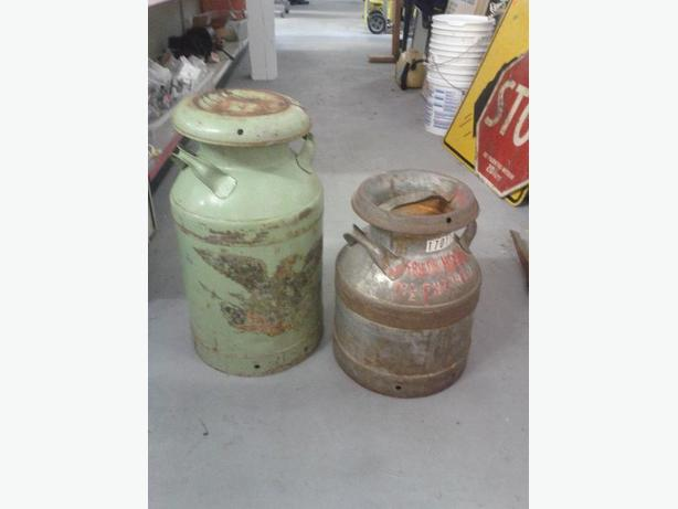 Pair of Milk Jugs (Tall Jug is Sold)