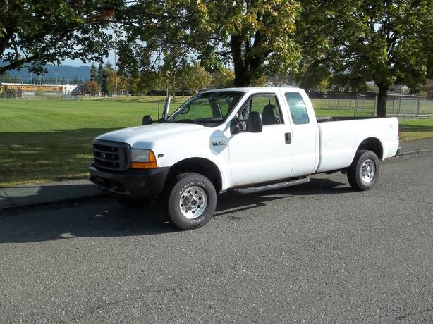 1999 ford f250 ext cab 4x4 long box outside comox valley. Black Bedroom Furniture Sets. Home Design Ideas