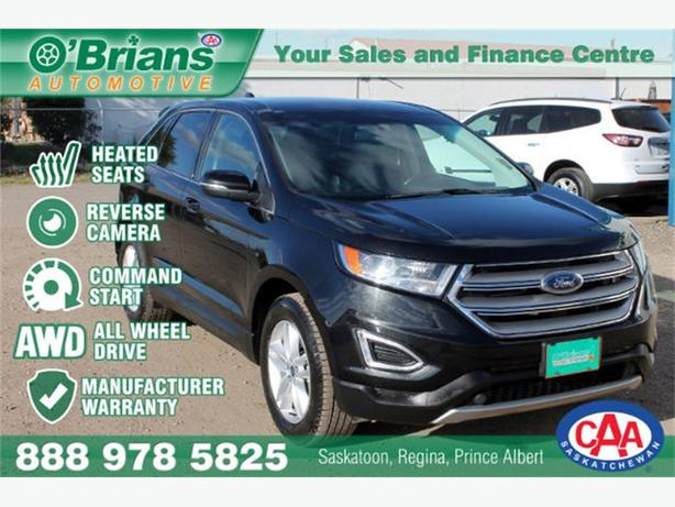 2015 Ford Edge SEL - AWD HTD SEATS CMD STRT WARRANTY
