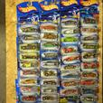 2001 to 2005 New Hot Wheels Cars in packages