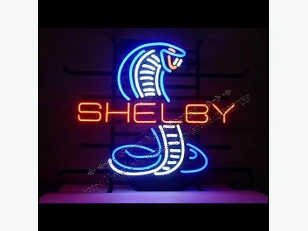 Just in, Shelby Cobra neon sign