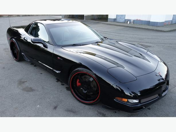 2002 CHEVROLET CORVETTE Z06 SUPER-CHARGED with low km's