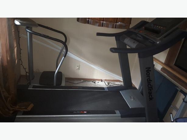 Nordic track c1500 quad track treadmill