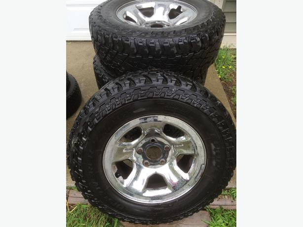on Ram 1500 rims