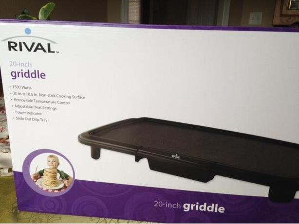 "20"" inch Electric Griddle"