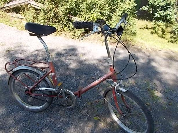 Vintage Norco Folding Bike