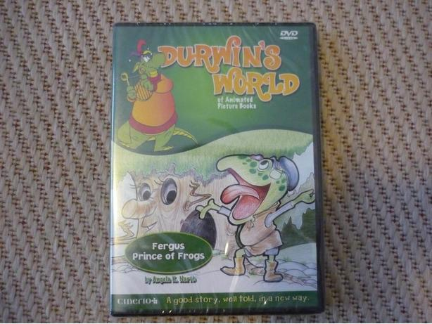 Durwin's World: Fergus, Prince of Frogs (DVD) NEW