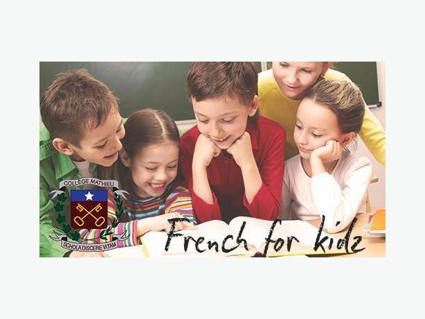 French for kids and teens - language classes
