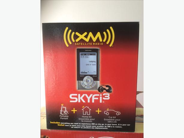 Delphi XM Satellite Radio SKYFi 3