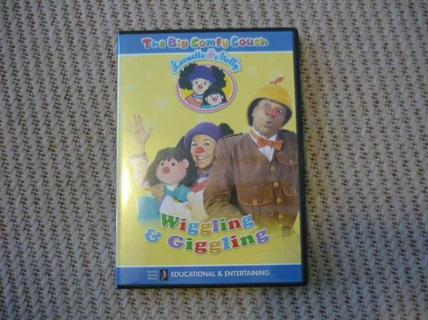 The Big Comfy Couch - Wiggling and Giggling DVD