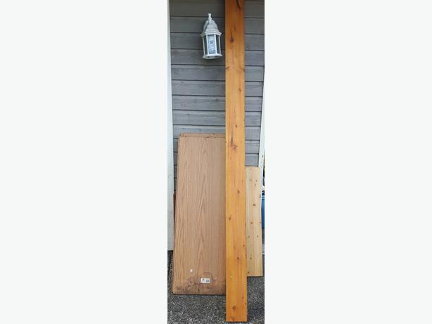 assorted wood shelving