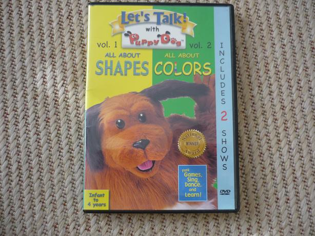 Let's Talk With Puppy Dog - Shapes and Colors DVD