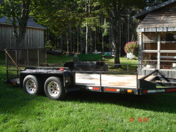 """REDUCED"" Linkletter Tandem Utility Trailer"