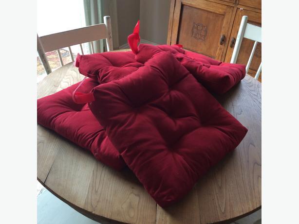 4 IKEA Seat Cushions