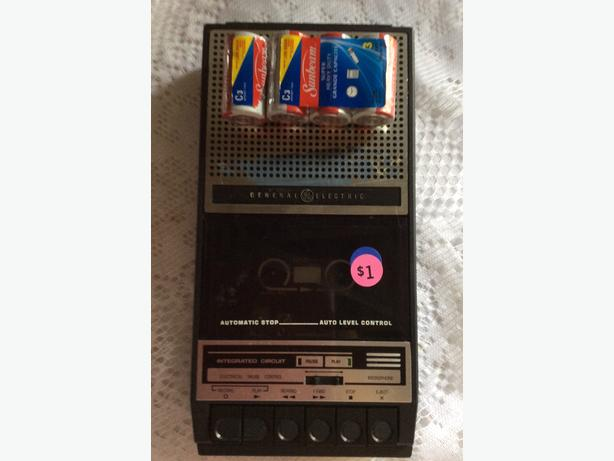 cassette player/recorder for sale