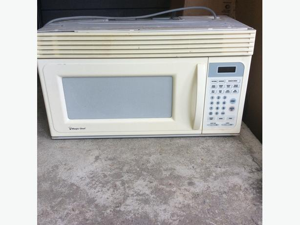 Used Microwave with Fan
