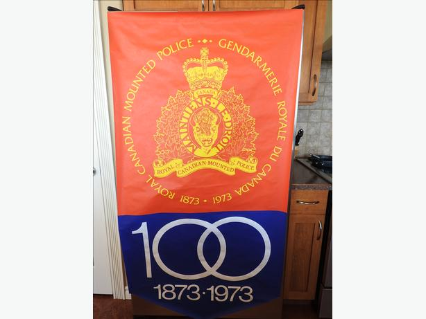 "RCMP Centennial Commemorative Poster ""as new"""