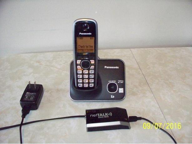 Net Talk Duo Wifi with cordless phone